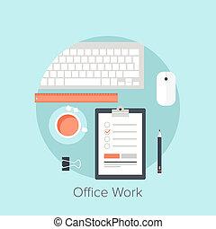 lavoro, ufficio