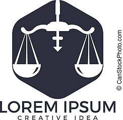 Law and Attorney Logo Design. - Law Firm,Law Office, Lawyer...