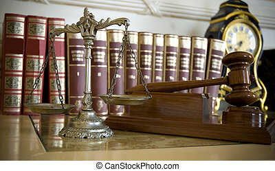 Law and Justice - Symbol of law and justice, law and justice...