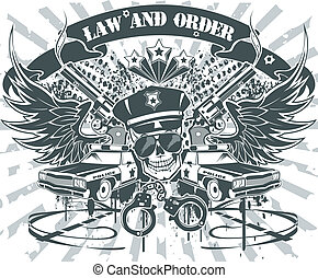 Law and Order Emblem