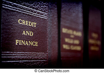 Law Books on Shelf