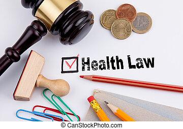 law., croix, papier, santé, blanc, questionnaire, rouges