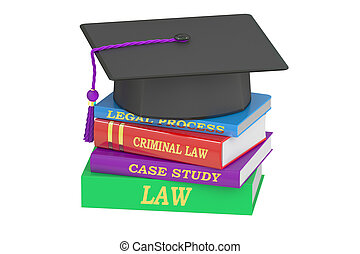 Law education, 3D rendering