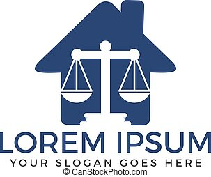 Law Firm Logo Design. - Symbol of law and justice.
