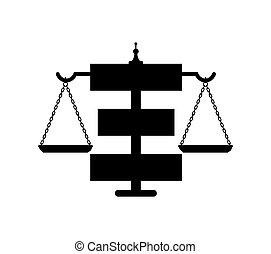 Law Icon Concept Design
