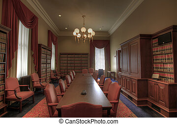 Law Library Meeting Room in Historic Building