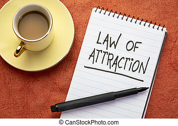 Law of attraction handwriting
