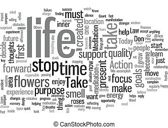 Law of Life text background wordcloud concept