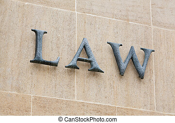 Law sign