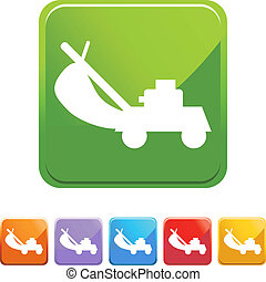 Lawn Mower web icon