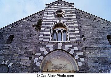 lawrence, portovenere, st. 。, ファサド, 教会
