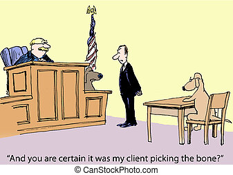 "Lawyer and Client - ""And you are certain it was my client ..."