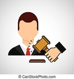 lawyer avatar with gavel
