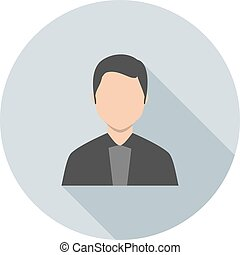 Lawyer, business, people icon vector image.Can also be used...