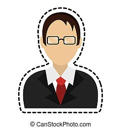 lawyer character avatar icon