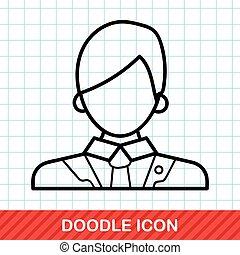 lawyer doodle
