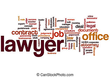 Lawyer word cloud