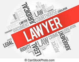Lawyer word cloud