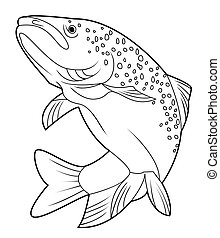 lax, fish