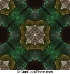 Layered Geometric Seamless Abstract - Textured, layered...