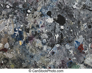 splashes of colorful paint. background
