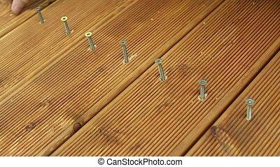 laying floor terrace board outdoor living area