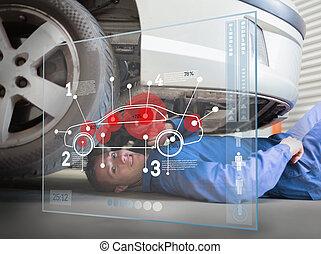 Laying mechanic consulting interface - Laying mechanic...