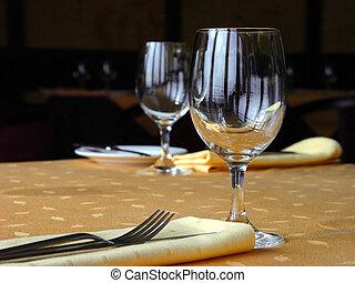 Laying restaurant