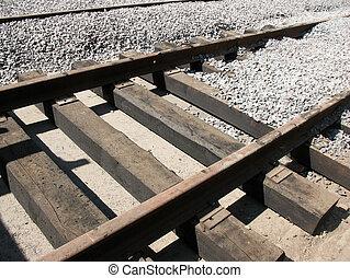 Laying tram tracks