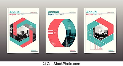 Layout Design Template, Cover Book, City Abstact Background