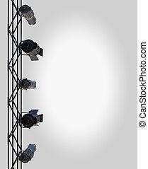 layout, spotlight