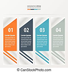 layout template Orange , blue, gray color