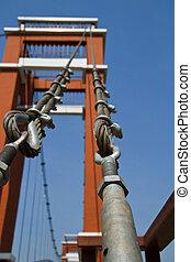 lazo alambre, bridges.