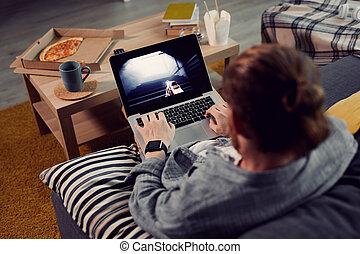 Lazy Man Playing Video Games