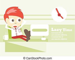 Lazy Time