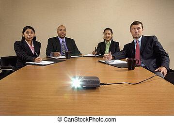 LCD business presentation.