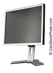 LCD display panel type side view