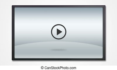 LCD display with photography icon - photography tool icons...