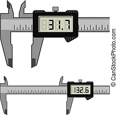 LCD electronic digital caliper micrometer gauge vernier