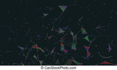 LCD galaxy.Abstract plexus background for different events...