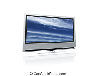LCD Isolated - LCD TV