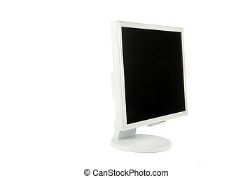 lcd monitor - isolated computer Liquid-Crystal Display