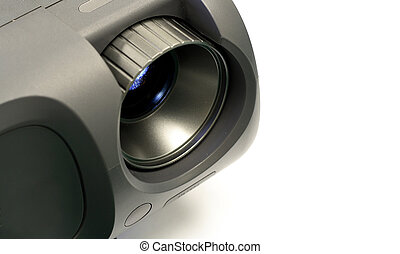 LCD projector - a photo of an LCD projector