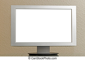 Lcd screen or tv - blank lcd tv or computer monitor