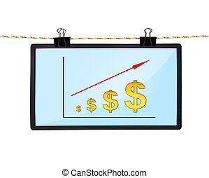 chart of dollar