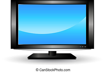 lcd, televisie