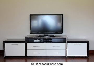 lcd, tv