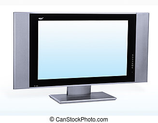 LCD TV - Modern lcd flat tft stereo hd tv television