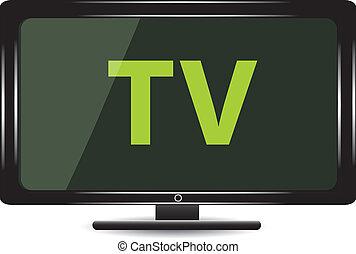 tv monitor.