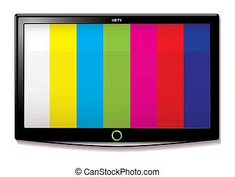 LCD TV Test screen